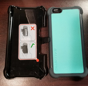 Ballistic Tough Jacket Maxx Iphone 6 PLUS - Teal/Gray - Equipment Blowouts Inc.