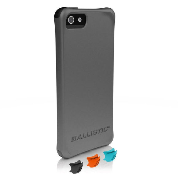 Ballistic Smooth Case for iPhone 5c - Gray - Equipment Blowouts Inc.