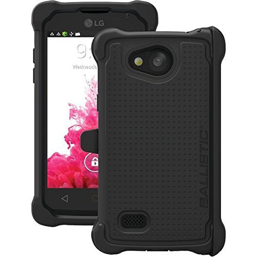 Ballistic Tough Jacket Maxx Case with Holster for LG Classic - Black
