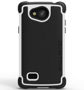 Ballistic Tough Jacket  Case for LG Classic L18VC - Black/White
