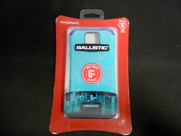 Ballistic Urbanite for Samsung Galaxy S5 - Teal Blue/Purple - Equipment Blowouts Inc.