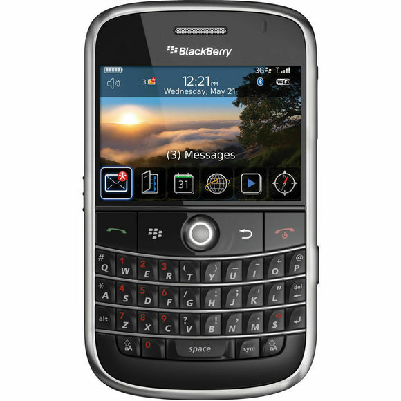 BlackBerry AT&T Bold 9000 Global 3G / 4G Smartphone - Equipment Blowouts Inc.