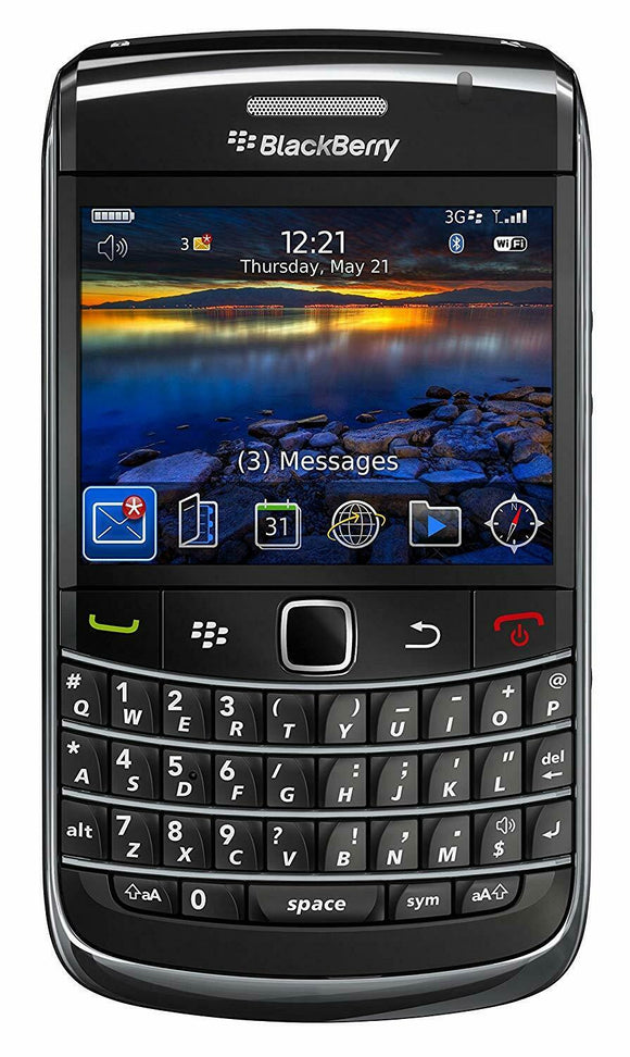 BlackBerry AT&T Bold 9700 Global 3G / 4G Smartphone - Equipment Blowouts Inc.
