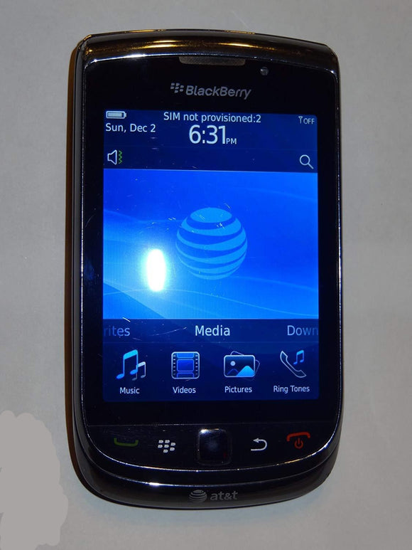 BlackBerry Torch 9800 GSM 3G Camera Smartphone AT&T - Equipment Blowouts Inc.