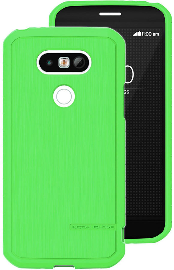 Body Glove Satin Cell Phone Case for LG G5, Caribbean Lime Green - Equipment Blowouts Inc.