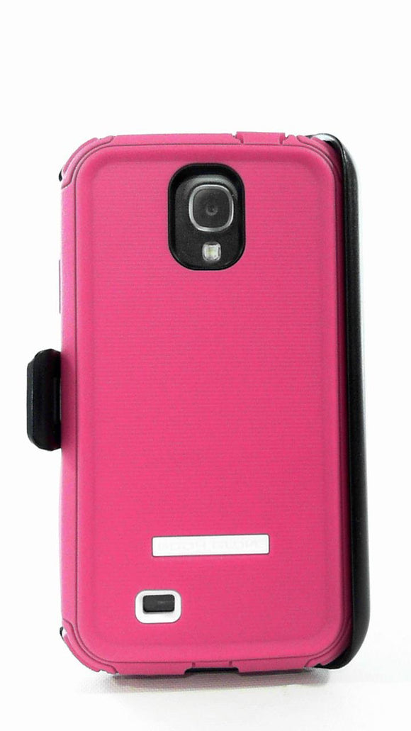 Body Glove ToughSuit Case with Holster For Samsung Galaxy S4 - Pink - Equipment Blowouts Inc.