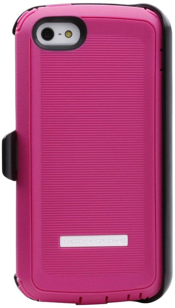 Body Glove Tough Suit Rugged Case for iPhone 5/5s - Pink /Black - Equipment Blowouts Inc.
