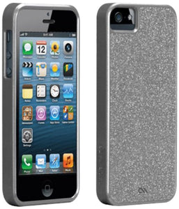 CASE-MATE BARELY THERE GLAM Case for iPhone 5 - Silver - Equipment Blowouts Inc.