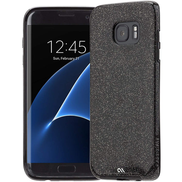 Case-Mate Naked Tough Sheer Glam for Samsung Galaxy S7 Edge - Black - Equipment Blowouts Inc.