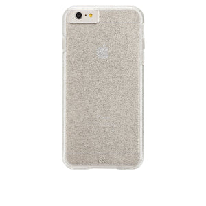 Case-Mate NAKED TOUGH Sheer Glam for Apple iPhone 8 / 7 / 6 / 6s - Sparkle Effect Champagne - Equipment Blowouts Inc.