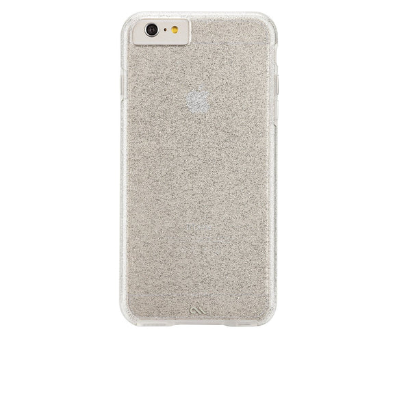 Case-Mate NAKED TOUGH Sheer Glam for Apple iPhone 8 / 7 / 6 / 6s - Sparkle Effect Champagne - Equipment Blowouts Inc. Established 2005.
