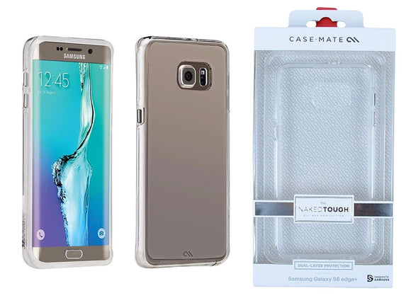 Case-Mate Naked Tough Case for Samsung Galaxy S6 Edge Plus - Clear - Equipment Blowouts Inc.