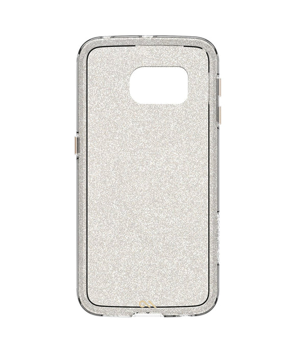 Case-Mate Naked Tough Sheer Glam for Samsung Galaxy S6 Edge - Glitter Clear - Equipment Blowouts Inc.