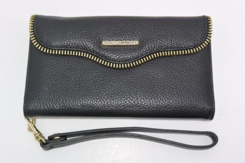 Case-Mate Rebecca Minkoff Folio Wristlet for Samsung Galaxy S6 Edge Plus - Black - Equipment Blowouts Inc.