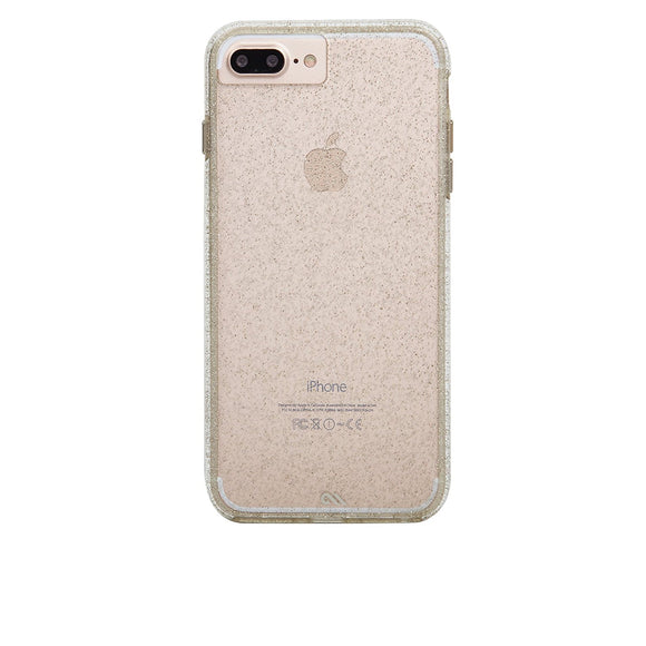 Case-Mate Sheer Glam Naked Tough Sheer Glam for iPhone 8+ / 7+ / 6+ / 6s Plus - Champagne - Equipment Blowouts Inc.