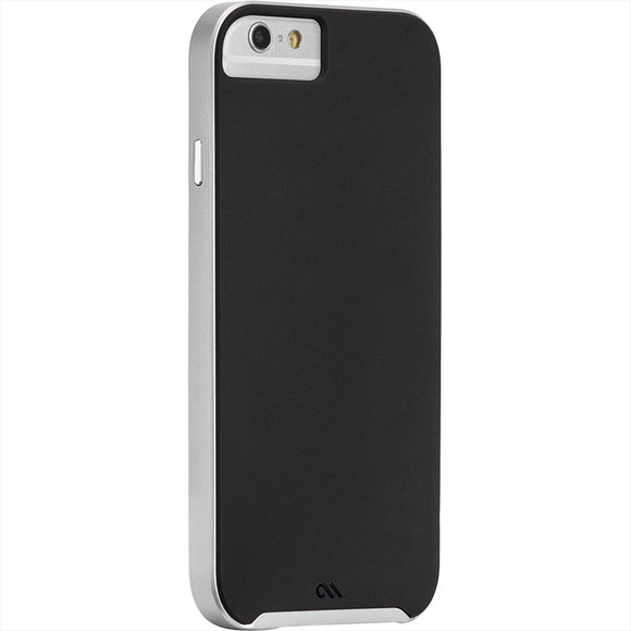 Case-Mate Slim Tough for iphone 6 - Black/Silver - Equipment Blowouts Inc.