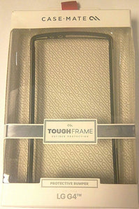 Case-Mate Tough Frame for LG G4 - Clear/Black - Equipment Blowouts Inc.