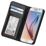 Case-Mate Wallet Folio for Samsung Galaxy S6 - Black - Equipment Blowouts Inc.