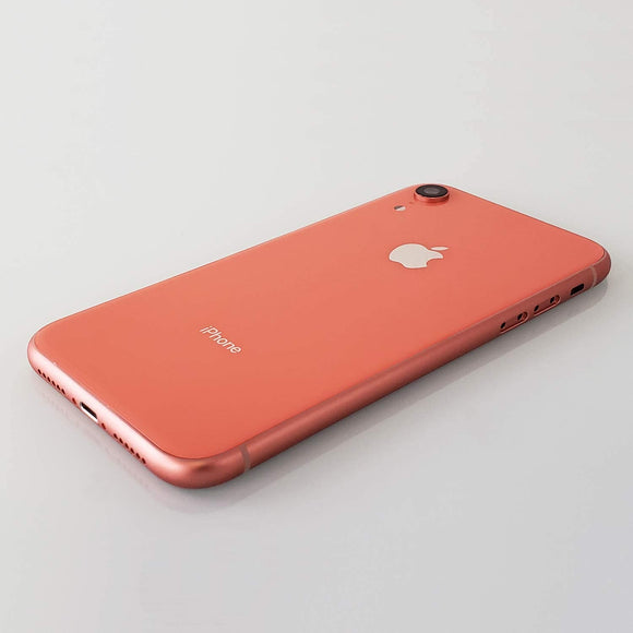 OEM Apple iPhone XR rear housing back glass ( Coral )