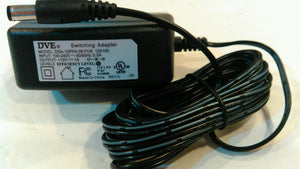 DVE DSA-12PFA-09 FUS 120100 12V 1A Switching Power Adapter Supply Ac Plug - Equipment Blowouts Inc.