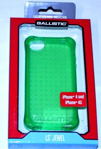 iPhone 4?4s LS Jewel Phone Case - Green - by Ballistic - Equipment Blowouts Inc. Established 2005.