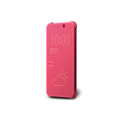 HTC Dot View Ice Premium Case for HTC One M9 - Pink - Equipment Blowouts Inc. Established 2005.