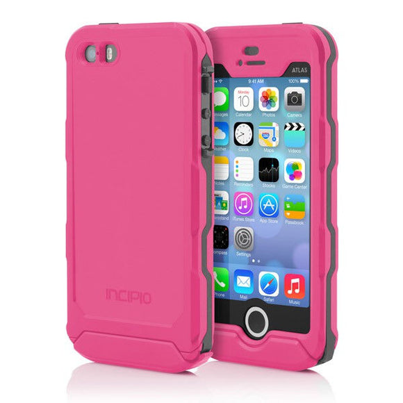 Incipio Atlas Case for iPhone 5/5s - Pink/Gray - Equipment Blowouts Inc.