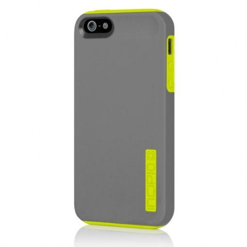Incipio DualPro Case Shockproof for Iphone 5 - Gray/Yellow - Equipment Blowouts Inc.