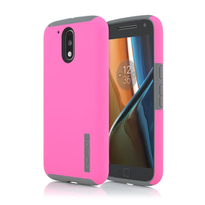 Incipio DualPro Case for Moto g4 Play - Pink/Gray - Equipment Blowouts Inc.