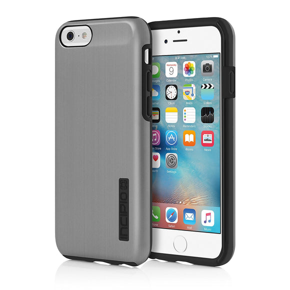 iPhone 6S Case, Incipio DualPro SHINE Case Cover for Iphone 6/6s - Gunmetal/Black - Equipment Blowouts Inc.