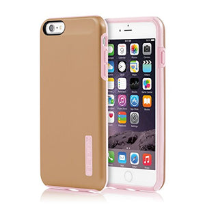 Incipio DualPro Shine Case for Iphone 6/6s Plus - Rose Gold/Pale Pink - Equipment Blowouts Inc.
