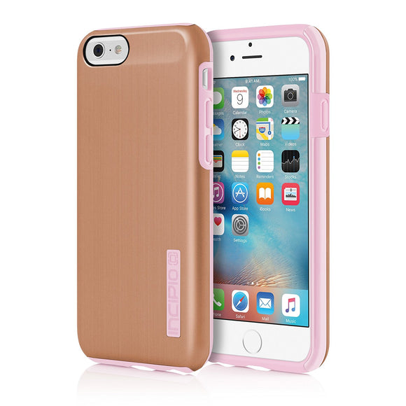 Incipio DualPro SHINE Case Cover for Iphone 6/6s - Rose Gold/Blush - Equipment Blowouts Inc.