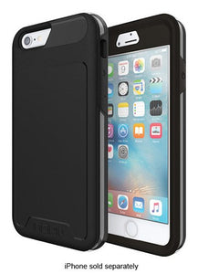 iPhone 8 7 6/6S Case, Incipio [Performance] Series- Black/ Gray