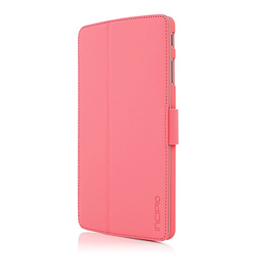 Incipio Lexington Kickstand Folio for LG G Pad F 8.0 - Pink - Equipment Blowouts Inc.
