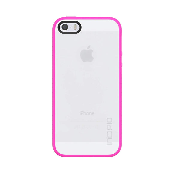 Incipio Octane Co-Molded Impact Absorbing Case for iPhone 5/5s - Frost/Pink - Equipment Blowouts Inc.