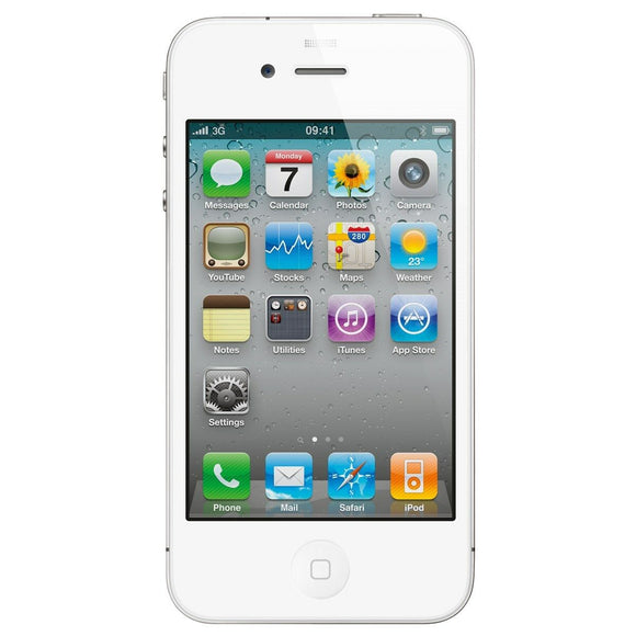 Apple Iphone 4 White  8GB A1349 Verizon wireless mobile Phone