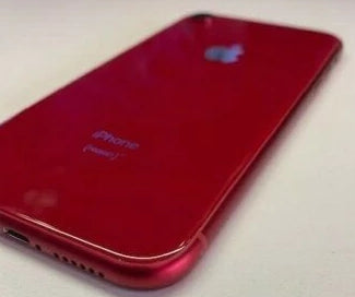 OEM Apple iPhone XR rear housing back glass ( RED ) - Equipment Blowouts Inc.