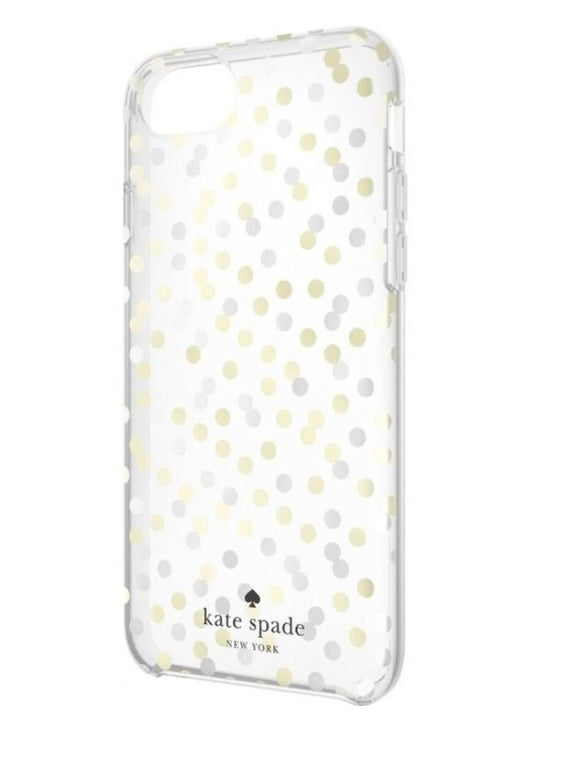 Kate Spade New York Confetti Dot for Iphone 7/6/6s - Silver/Gold - Equipment Blowouts Inc.