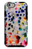 "M-Edge iPhone 6/6S 4.7"" Paint Drops/Clear Echo Glimpse Slim Cover Case - Equipment Blowouts Inc."