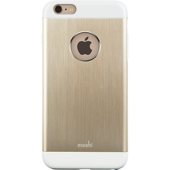 Moshi iGlaze Armour Premium Aluminum Case for iPhone 6 Plus/6s Plus (Gold) - Equipment Blowouts Inc. Established 2005.