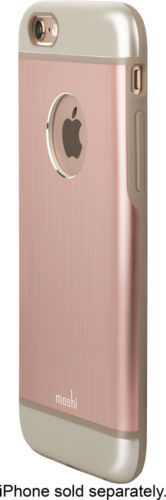Moshi iGlaze Armour Case for iPhone 6s and 6 - Golden Rose - Equipment Blowouts Inc.