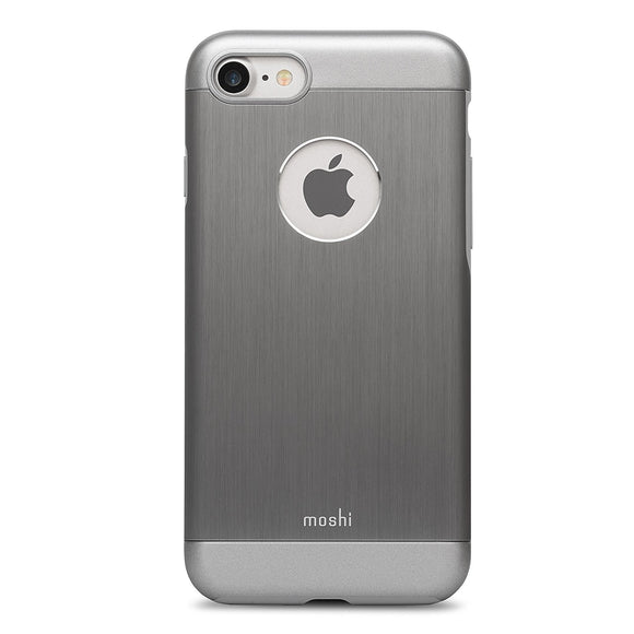 Moshi iGlaze Armour Case for Apple iPhone 6 Plus and 6s Plus - Gunmetal Gray - Equipment Blowouts Inc.