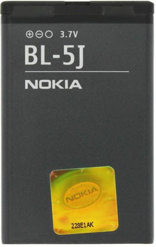 Nokia BL5J Replacement Battery  For 5228 5230 Nuron 5233 5235 5800 Xpress Music N900 C3 X6 Lumia 520 521 525