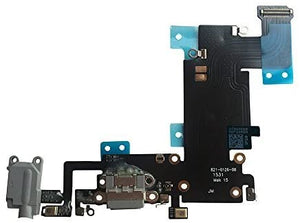 Charging Port OEM Replacement for iPhone 6s plus White Flex Cable Assembly
