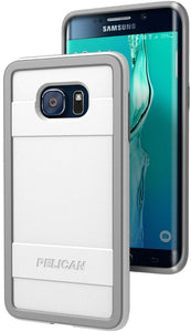Pelican Progear Protector for Galaxy S6 Edge Plus - White/Gray - Equipment Blowouts Inc.