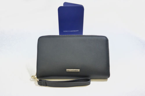 Rebecca Minkoff Universal Wristlet - Black - Equipment Blowouts Inc.