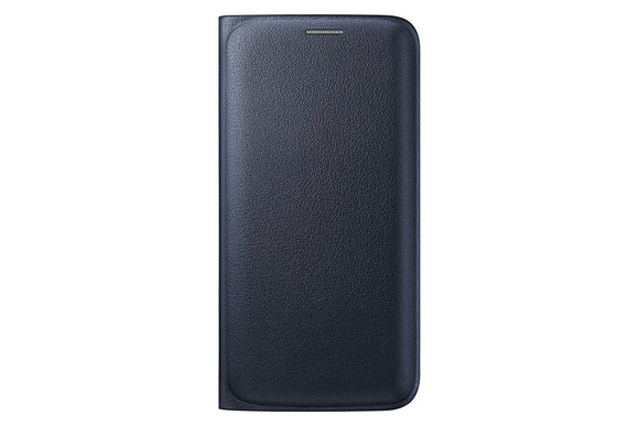 Samsung Wallet Flip Cover for Samsung Galaxy S6 Edge - Black Sapphire - Equipment Blowouts Inc. Established 2005.