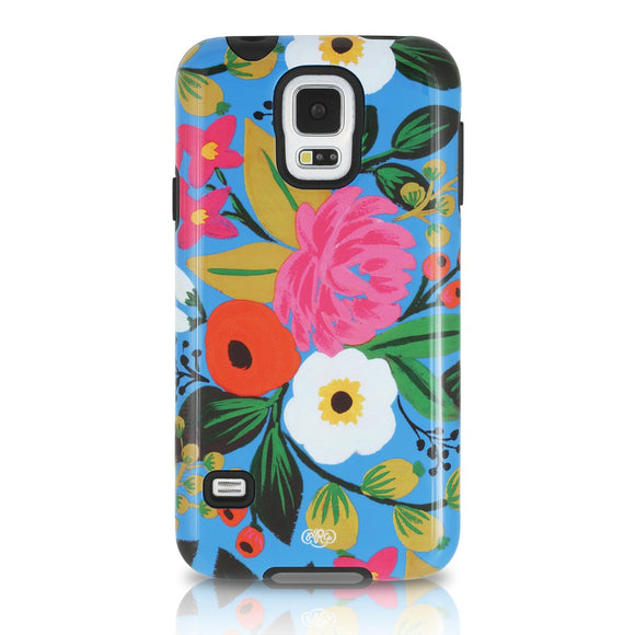 Sonix Inlay Case for Samsung Galaxy S5 - Blue Floral - Equipment Blowouts Inc.