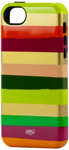 Sonix Inlay Case for iPhone 5C -Berry Stripe - Equipment Blowouts Inc. Established 2005.