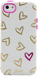 Sonix Inlay Case for iPhone 5C - White Heart To Heart - Equipment Blowouts Inc.